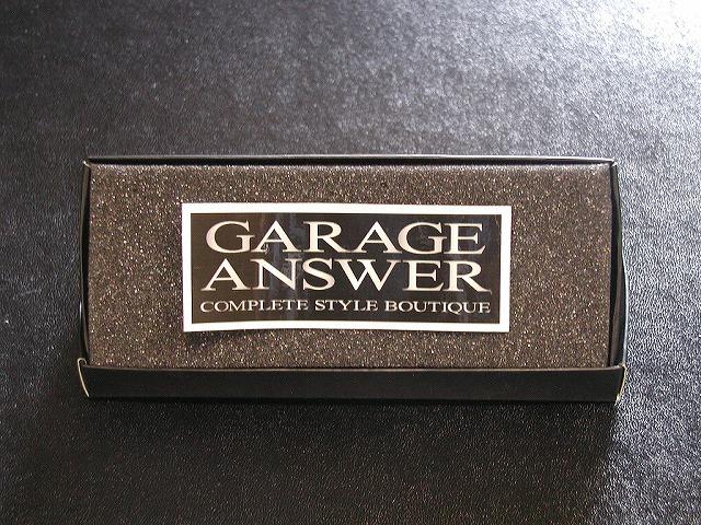 ステッカー GARAGE ANSWER [A-010]